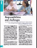 Responsibilities and challenges