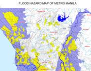 Flood Hazard Map Philippines Philippines: Flood hazard map of Metro Manila   Maps   Knowledge