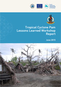 Tropical cyclone Pam: lessons learned workshop report