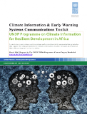 Climate information and early warning systems communications toolkit