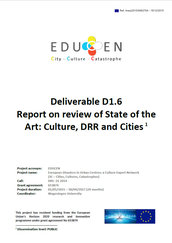 Report on review of state of the art: culture, DRR and cities