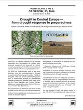 Drought in Central Europe: From drought response to preparedness