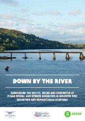 Down by the river: Addressing the rights, needs and strengths of Fijian sexual and gender minorities in disaster risk reduction and humanitarian response