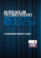 An open data law for climate resilience and disaster risk reduction