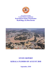 Study report: Kerala floods of August 2018
