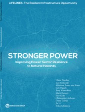 Stronger power: Improving power sector resilience to natural hazards