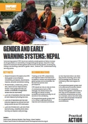 Gender transformative early warning systems: Nepal